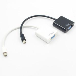 MacBook Air Pro iMac Mac Mini Thunderbolt Mini DisplayPort Порт дисплея Mini DP - VGA Кабель-адаптер 1080P