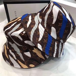 luxo atacado Verão SunBucket Hat Proteção Pesca cartas de alta qualidade bonés Bob Boonie Bucket Chapéus de Verão