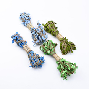 3meters / серия Искусственные цветы Виноградные Искусственные листья Свадебные украшения дома DIY Scrapbooking Craft Венок Поддельные Цветы Garland