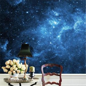 Прелести галактики звезды вид стены стикеры искусства росписи наклейка фото обои гостиная спальня коридор детские комнаты офис Бесплатная доставка