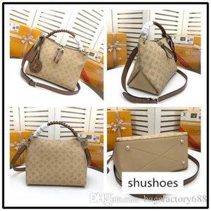 HOT SELL M56073 Top quality women leather twist handbag shopping messenger Shopping bag shoulder bag pockets Totes Cosmetic Bag