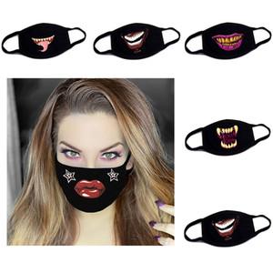 Máscara Designer Novos produtos Não Mainstream Pure Cotton Dustproof cobrir a boca Masculino Feminino criativas Máscaras expressão da personalidade Hot Selling