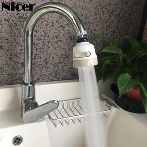 Cocina de ahorro de agua Aireador adaptador del grifo de agua de 360 rotaciones grifo spray Electrodomésticos modo de la cabeza 3 Boquilla para la cocina
