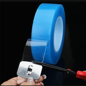 Multifunctional Candles Home Dcor Double-Sided Adhesive Traceless Washable Removable Blue Magic Tape Sticker Traceless Tape For Home Repair