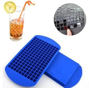 160 Grids cubos de gelo Criador Mini Silicone Ice Cube Moldes Mold Bandeja de Ferramentas Kitchen Para Whiskey Ice Cube LJJK2031 Mold