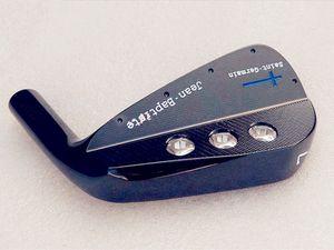 Jean Baptiste St. Germain Iron Set Preto Golf Forged Irons Jean Baptiste Golf Clubs 4-9P eixo de aço com tampa da cabeça