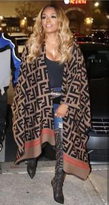 Tipo Estrela Scarf Shawl Cape casaco de lã Cashmere Scarf Outono Inverno Manto Tamanho Feminino Inverno Livre Hot Sell