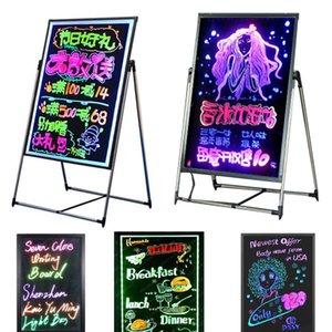 O estudo de Kits levou neon blackboard a aprender com os seus filhos em conselho de propaganda divertido para a loja hotel DIY a mensagem