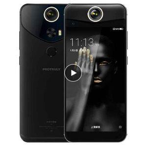 "PROTRULY Original V10S 360 Graus 3D VR 4G LTE Octa Núcleo Do Telefone Móvel Android 7.1 5.5 ""FHD 4 GB RAM 64 GB ROM NFC Impressão Digital 16MP"