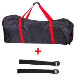 휴대용 가방 배낭 가방 스토리지 및 번들 킥 스쿠터 전기 스쿠터 가방 - 레드 + 블랙