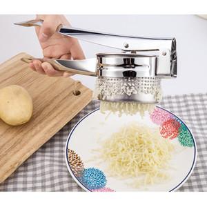 البطاطس الفولاذ المقاوم للصدأ هراسة الإبداعية مطبخ أداة ليمون البرتقال عصارة دليل عصارة DHL شحن سريع XD23309