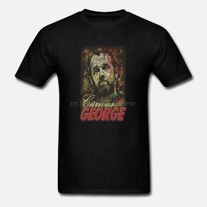 George Carlin Curious GeorgeT Shirt graphic tee comedian bill hicks pryor