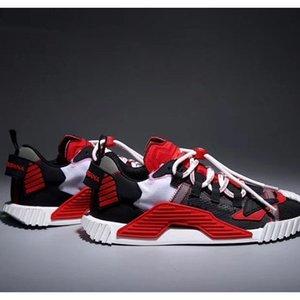 Diseñador de zapatos Hombres Mujeres Zapatos Casual manera de la plataforma DAYMASTER zapatillas de deporte de estiramiento-jersey zapato detrás de piel Zapatos Z02