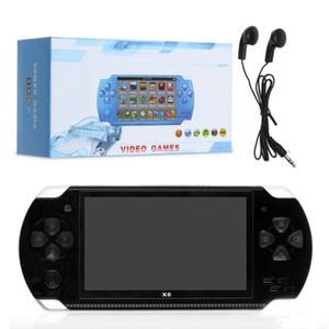 شاشة PMP X6 يده لعبة وحدة التحكم لعبة PSP مخزن كلاسيكي الألعاب TV الناتج المحمولة لعبة فيديو لاعب MQ30
