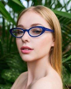 Weibliche Blue lichtundurchlässige Lesebrille klar Mode Damen Hyperopie Anti-Fatigue Brillengläsern 1.00 1.50 2.00 NX
