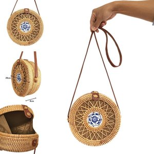 Designer-New New Fashion Women Boho Style Shoulder Bag Satchel Round Handbag