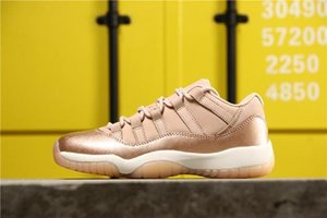 Box With 11 women Low Gs Rose Gold 11s Xi Men Basketball Shoes shoe For Womens Triple Vintage Ah7860-105 Trainer Designer Sneakers 5.5-8.5