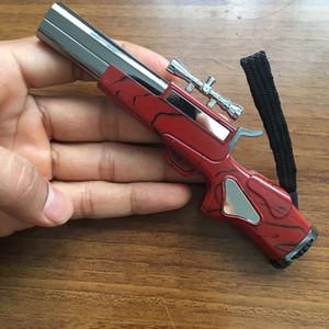 블루 듀얼 스코치 불꽃 총 가벼운 제트 토치 라이터 금속 방풍 부탄 가스 리필