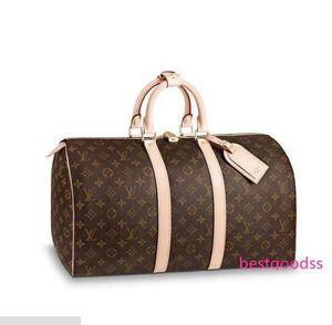 M41428 45 Keepall Men Messenger Bags Shoulder Belt Bag Totes Portfolio Briefcases Duffle Luggage