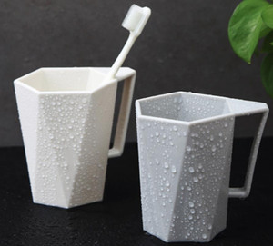 Household Washing Cup Couple Brushing Cups Plastic Creative Simple Nordic Toothbrush Cup Mug