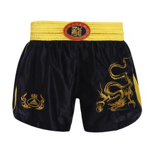 Crianças Muay Thai Shorts Kick Boxing Shorts Crianças Luta Trunks combate Sport calças Gym Training Boxe Thai Kickboxing
