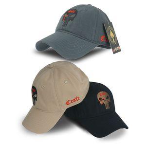 Berretto da baseball TSNK cotone tattico Berretto da baseball SEALs Punisher American Sniper esercito cappello di snapback Per MenWomen