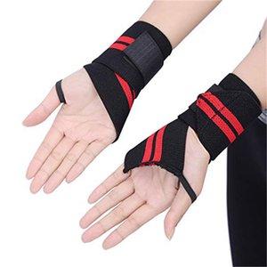 1Pcs ajustável Esporte Pulseira engrenagem Wrist Elastic Enrole Strap Sports Braçadeiras Basketball Sports Protective Pressão Academia de pulso