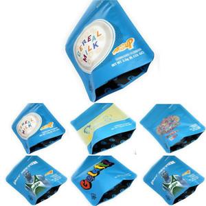 Sacos de embalagem grátis DHL biscoitos Bolsas Gary Payton sacos Proof Mylarbag Mylar 5styles 3,5 Cheiro Mylar hpTgf