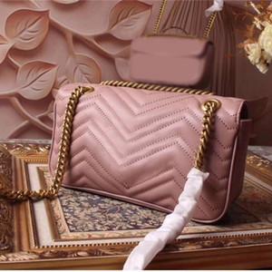 bolso de las mujeres famosas de diseñador de la marca de lujo de moda de alta calidad bolsas de las señoras del hombro mensajero cuerpo mini cruz venta del envío libre de 26 cm de tamaño