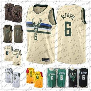 Пользовательские мужские женские молодежные Milwaukee Bucks 1 Oscar Robertson 6 Eric Bledsoe green Throwback Basketball Edition NBA Джерси