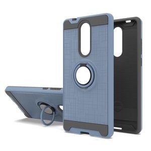 MetroPCS Modell Coolpad Legacy Case 360 Grad Drehring Halterung Dual Layer Shock Stoßstangenabdeckung für LG Stylo 5