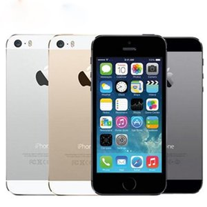 """Apple iPhone 5S Without Fingerprint 64GB 32GB 16GB iOS 8 4.0"""" IPS HD A7 8MP Refurbished Unlocked Mobile Phone"""
