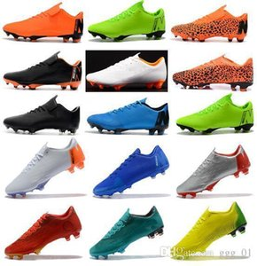 New 2019 Assassin 12 Mercurial Superfly VI 360 Elite Mens Football Boots Vapores XII Pro FG Soccer Cleats Waterproof Cheaper Soccer Shoes