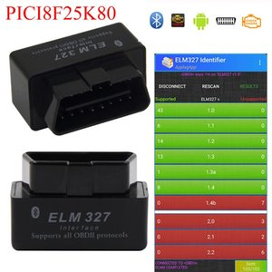 ELM327 V1.5 Bluetooth OBD2 V1.5 Mini Elm 327 Bluetooth PIC18F25K80 Chip Auto Diagnostic Tool OBDII for Android Windows Code Read