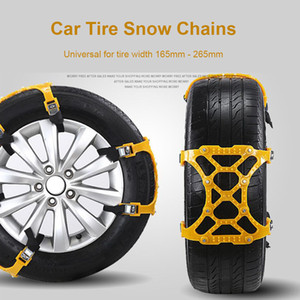 Car Tire Snow Chain Auto Truck Adjustable Winter Mud Anti Slip Anti-Skid Safty Emergency Security Tyre Wheel Chain Belt