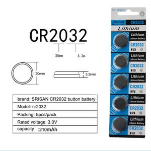 10 قطع / 2 بطاقات cr2032 dl2032 cr 2032 kcr2032 5004lc خلية زر خلية عملة 3 فولت بطارية ليثيوم لمشاهدة ووتش مقياس الخطو الصمام الخفيفة