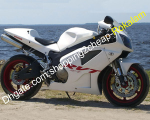 Honda VTR 1000 SP1 SP2 RC51 için Moto Kaporta Parçaları RVT 1000R 2000 2001 2002 2003 2004 2005 2006 Beyaz ABS Motosiklet Peraz