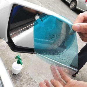 New 1 Par Car Auto Anti película de água Névoa Film Anti Fog revestimento à prova de chuva hidrofóbica Espelho Retrovisor de protecção 4 tamanhos