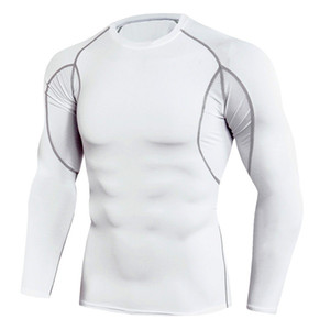 New Long Sleeve Sport Shirt Men Quick Dry Men's Ruii T-shirt Sfft Gymmy Clothing Fitness Top Mens Rashgard Soccer Jersey