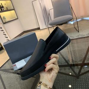 pelle degli uomini del progettista vestito scarpe di tela mocassini 2020 lusso Dress Casual Slip-on pigro Flats Shoes di Kung Fu