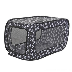 Foldable Pet Supplies Pet Tent Portable Dogs Cats Fence Playpen Cage Folding Rectangular Dog House Cage Puppy Kennel Cat Supplies