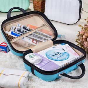borsa ABS Cosmetic bag Nuovo sacchetto di sandwich Zipper Mini scatola pacchetto ama una piccola valigia Il bagaglio spedizione gratuita