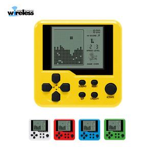 Ultra-pequeno mini Tetris Crianças videogame portátil portátil LCD Jogadores crianças brinquedo educativo eletrônico brinquedos clássicos