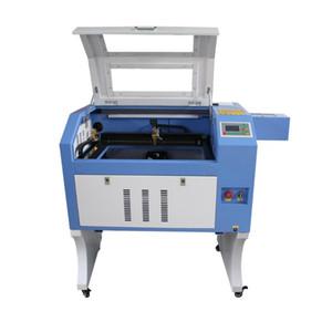 80W / 100W máquina grabadora láser CNC de la mesa de mini sistema ruida cortador de 40x60cm máquina láser