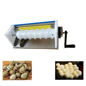 2020 LEWiao factory high quality high efficiency direct sales commercial small stainless steel hand-boiled quail egg shelling machine