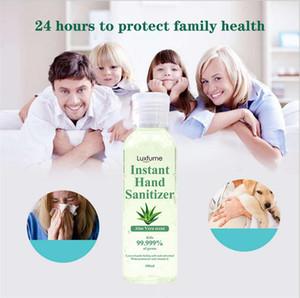 désinfectant pour les mains aloe vera parfum main instantanée Avec Gel Sanitizer main vitamine E jetable No Clean Waterless 100 ml antibactériennes