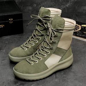 Outdoor Military Tactical Combat Boot Männer Vintage-Boots High Top Wanderschuhe Camping Schuhe Reisen Schuhe 9 # 22 / 20D50