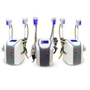 Cryolipolysis máquina de congelamento de gordura 5in1 LipolaseR uso pessoal Crioterapia a laser lipo cavitação RF máquina de emagrecimento em estoque