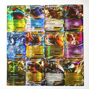 Pokemon EX-glänzendes Takara Tomy Karten Spiel Schlacht Karte 100pcs Handelsspielwaren für Kinder