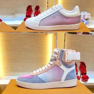 Платформа мода Cfashion Повседневная обувь роскошный дизайнер скейтбординг обувь мужчины женщины спортивные сапоги кожаные плоские Флэш кроссовки спортивная обувь